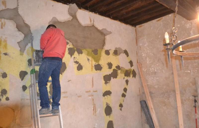préparation des murs intérieurs pour chaux St Astier